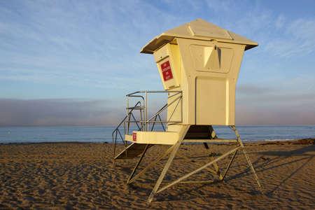 life guard: Beach Life Guard station