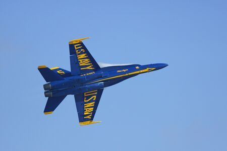 f18: Jet Airplane Blue Angels F-18 Hornet fighter