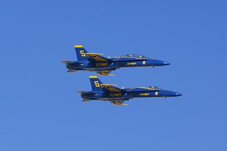 f18: Jet Airplane Blue Angels F-18 Hornet fighters
