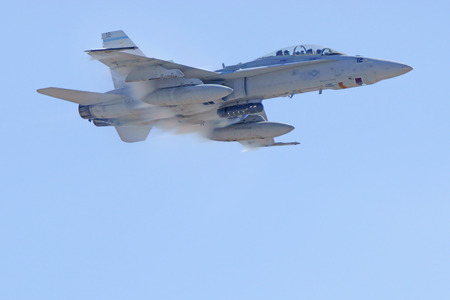 f18: Jet Marines F-18 Hornet breaking the sound barrier