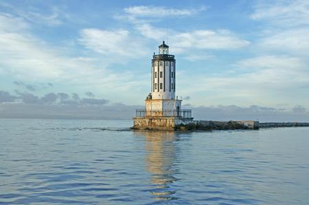 california coast: Light house along California coast