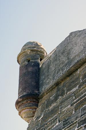 turret: St Augustine fort turret