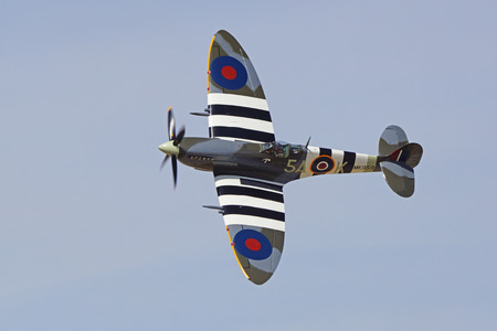 wwii: Airplane WWII Great Britain vintage Spitfire fighter