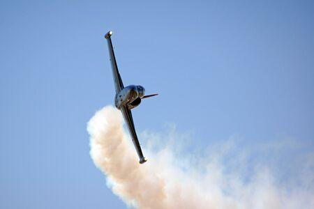motor launch: Airplane L-39 Albatross of the Patriots Jet team Editorial