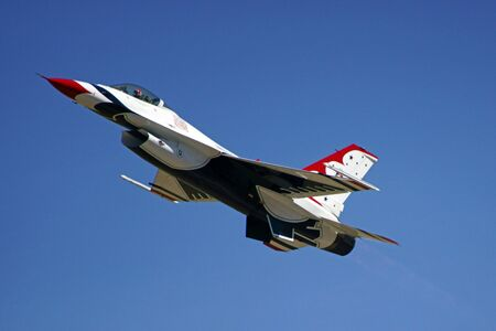 Airplane F-16 Thunderbirds fighter jet