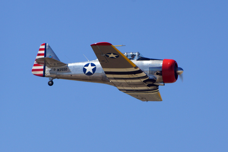 texan: Airplane WWII T-6 Texan Trainer aircraft