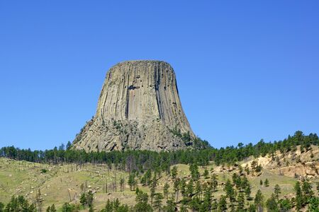 wyoming: Devils Tower monument in Wyoming