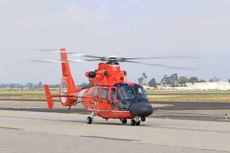 coast guard: Coast Guard rescue MH-60 Jayhawk helicopter