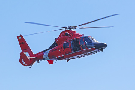 Helicopter Coast Guard rescue Editorial