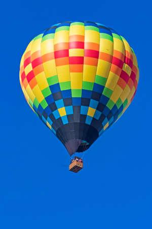 Hot air balloon lift-off