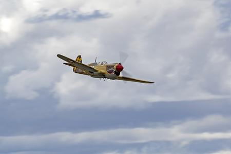 Avion wwii air force air décolle au air show Banque d'images - 81093465