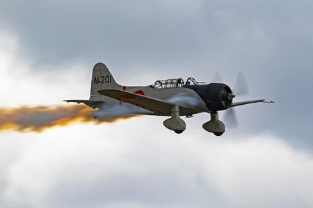 kampfhund: Flugzeug Aichi D3A Val WWII Torpedobomber