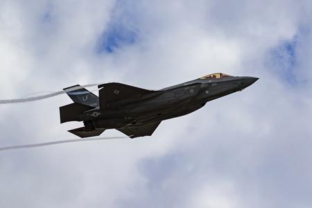 Airplane F-35 Stealth jet fighter