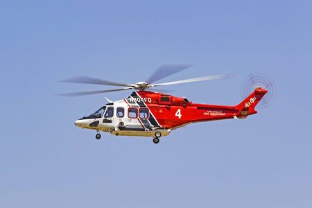 Los Angeles Fire Department AW139 Helicopter Editorial