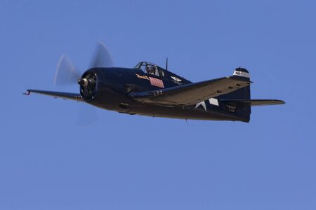 Airplane F6F Hellcat WWII fighter