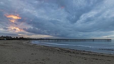 Sunrise at Ventura Pier in California