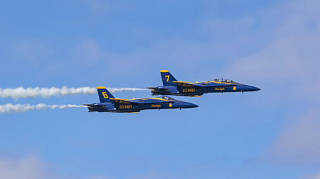 Airplane Navy Blue Angels jets