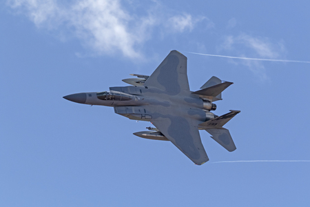 Airplane F-15 Eagle jet fighter