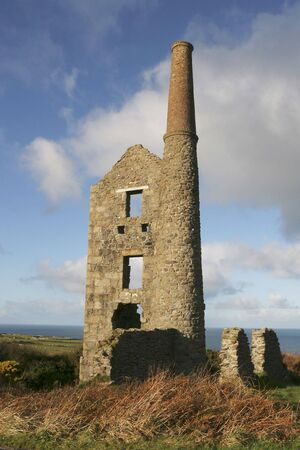 whim: Carn Galver a ruined Cornish tin mine