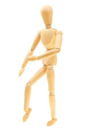 Artist's mannequin in a martial arts pose Stock Photo - 7410727