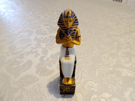 Egyptian chess piece: the pharaoh