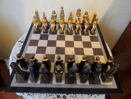 Egyptian chessboard