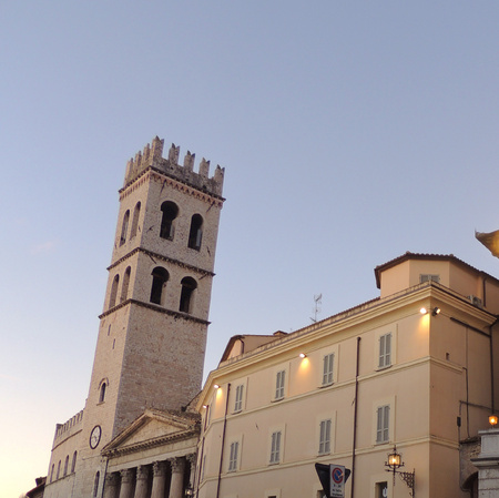 Palazzo del Capitano del Popolo and Torre Civica, Assisi.