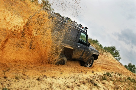 Off roading thrill Stock Photo - 8806669