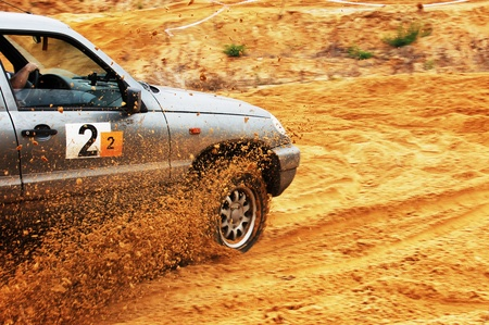off road racing: Off roading thrill