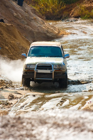 Off roading thrill