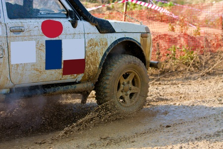 Off roading thrill Stock Photo - 11011404