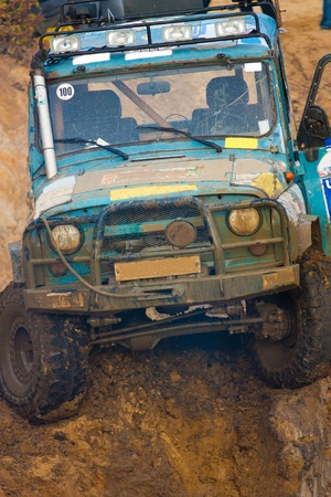 Off roading thrill Stock Photo - 11011402
