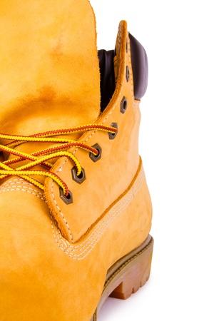 steel toe boots: Yellow men