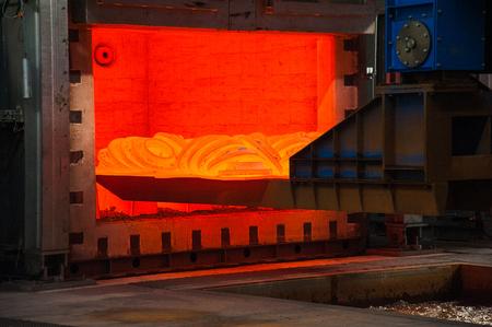 Heavy forgings plant. Metal work, melt metal work