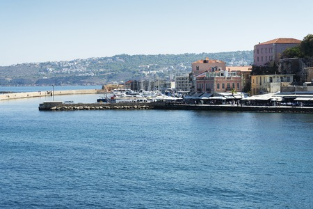 Scenery of the town of Chania.