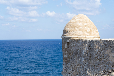 Tower in Fortezza of Rethymno.