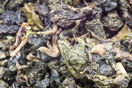 Green tea closeup photo