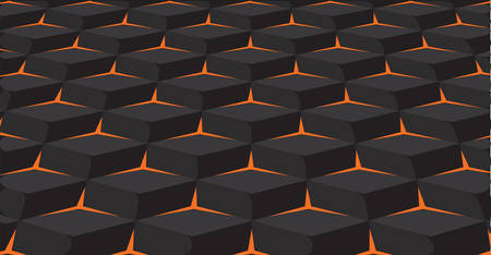 Abstract background. Noise structure with cubes. Vector image Ilustrace