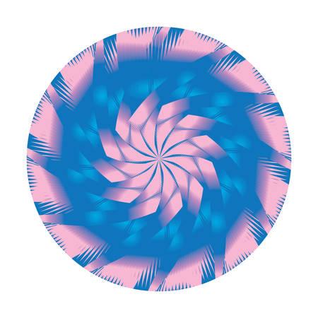 Ornate, eastern mandala. Art, round, colorful ornament
