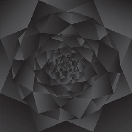 Vector Abstract dark geometric from gray shapes