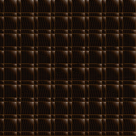Leather trim. Abstract seamless background. Noise structure with cubes. Vector image
