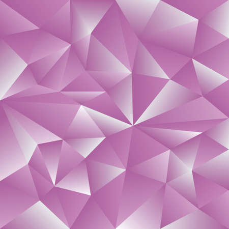 Abstract triangles pink paint background. Modern screen vector design for mobile app