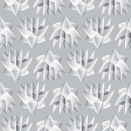Abstract seamless background. Noise structure. Imitation of stone carving. Vector image
