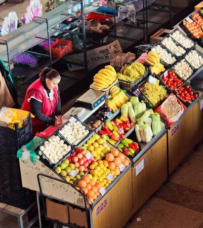 Pike Place Market produceren Redactioneel