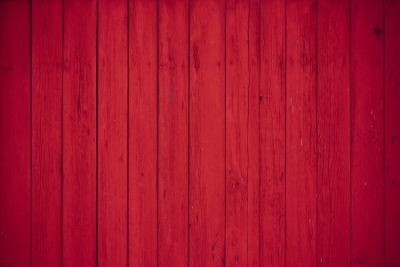 red wooden boards as a background photo
