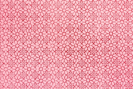 Flower design  Seamless pattern with pink background Stock Photo