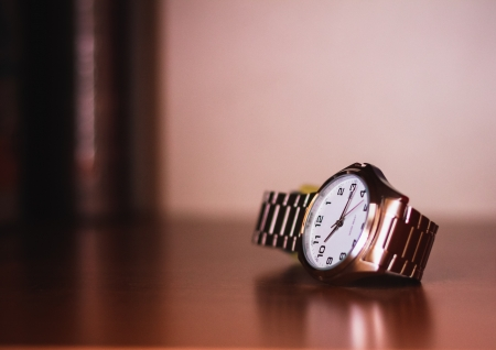 Closeup of the Men's Wrist Watch Stock Photo - 16023200