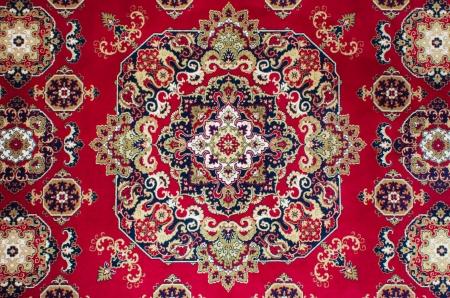 Oriental do tapete persa Textura Banco de Imagens