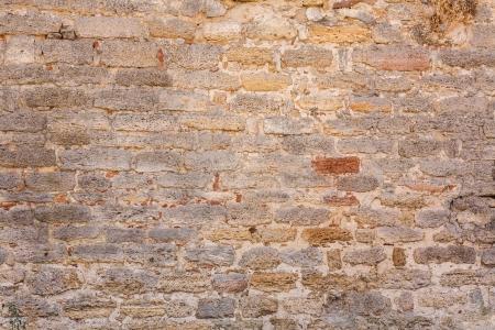 Velho muro feito de pedra de Jerusal