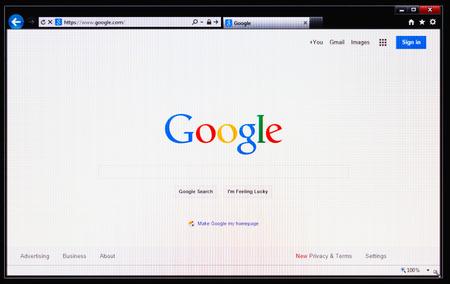 NEW YORK - SEP 3: Google announced new version Android 4.4 KitKat on september 3, 2013 in New York Stock Photo - 24112491